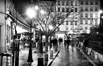 Photograph - Rue De La Huchette by John Rizzuto