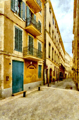 Photograph - Rue De La Violette by Scott Carruthers