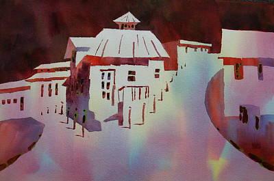 Painting - Rue De Marigot Isles Des Saintes by William Duncan