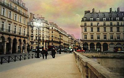 Photograph - Rue De Rivoli by Diana Angstadt