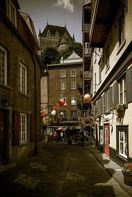 Photograph - Rue Du Cul De Sac by Chris Bordeleau