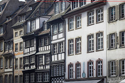 Photograph - Rue Du Maroquin Strasbourg by Teresa Mucha
