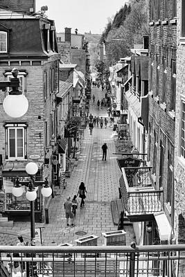 Photograph - Rue Du Petit Champlain by Eunice Gibb
