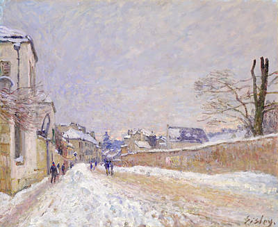 Painting - Rue Eugene Moussoir At Moret by Mountain Dreams