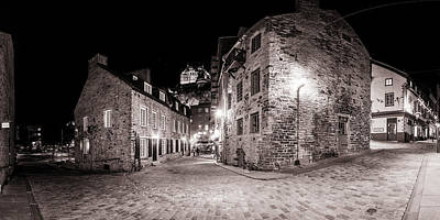 Photograph - Rue Notre Dame by Chris Bordeleau
