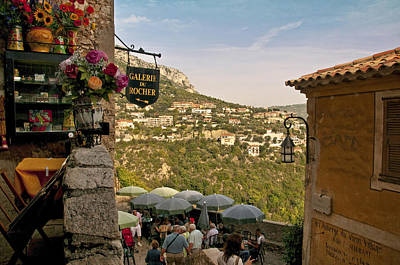 Photograph - Rue Principale In Eze by Steven Sparks