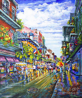 Painting - Rue Royale by Dianne Parks