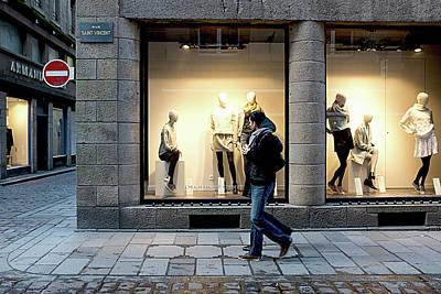 Photograph - Rue Saint Vincent by Hugh Smith