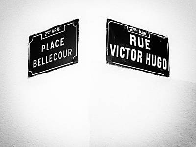 The Corner Of Place Bellecour And Rue Victor Hugo Art Print