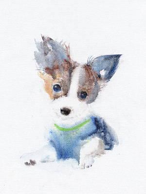 Painting - Ruffell Wilson  by Kazumi Whitemoon