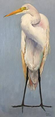 Painting - Ruffled Feathers 2 by Karen Langley