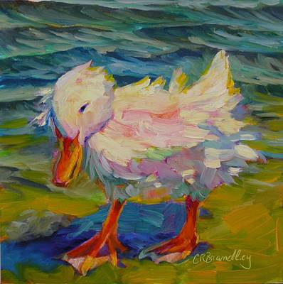 Painting - Ruffled Feathers by Chris Brandley