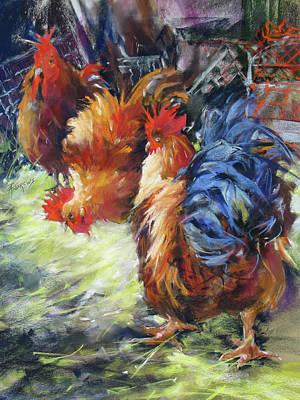 Painting - Ruffled Feathers by Rae Andrews