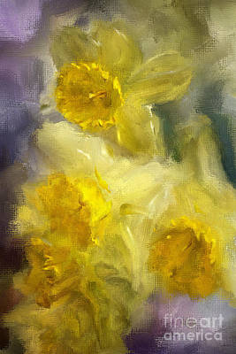 Digital Art - Ruffles by Lois Bryan