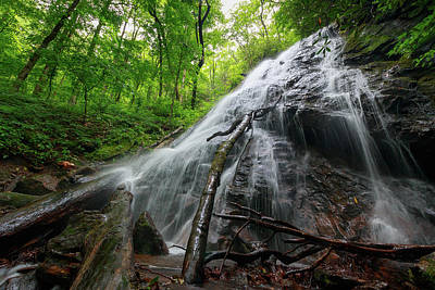 Photograph - Rufus Morgan Falls by Chris Berrier