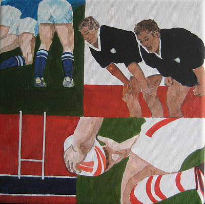 Rugby 2 Original by Pat Barker