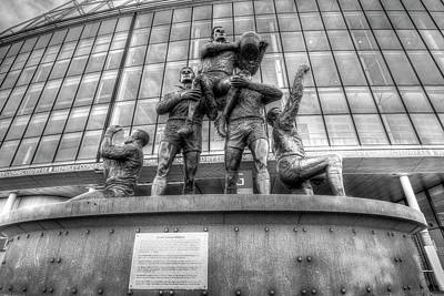 Photograph - Rugby League Legends Statue  by David Pyatt