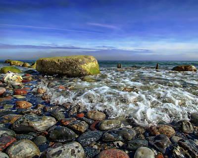 Photograph - Rugen Coastal View by Anthony Dezenzio
