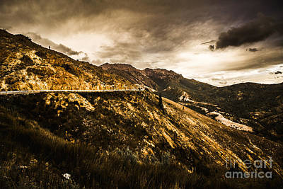 Photograph - Rugged And Intense Mountain Background by Jorgo Photography - Wall Art Gallery