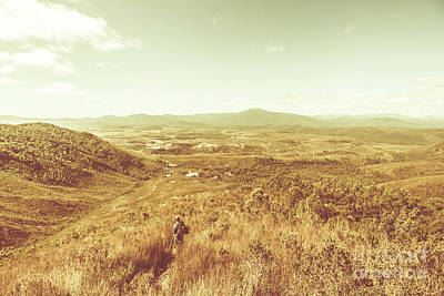 Hiking Wall Art - Photograph - Rugged Bushland View by Jorgo Photography - Wall Art Gallery