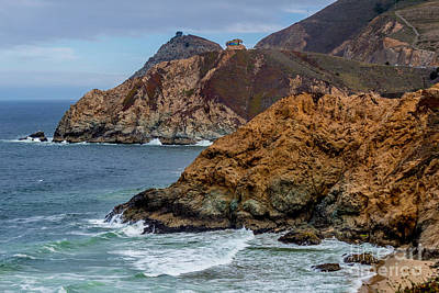 Photograph - Rugged California Shores by DJ Laughlin
