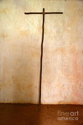 Photograph - Rugged Cross by Carol Groenen