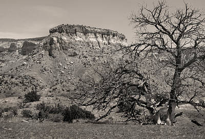 Georgia Okeefe Photograph - Rugged Ghost Ranch by Gordon Beck
