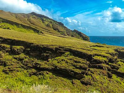 Photograph - Rugged Landscape Punta Pitt by Harry Strharsky
