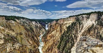 Photograph - Rugged Lower Yellowstone by John Kelly