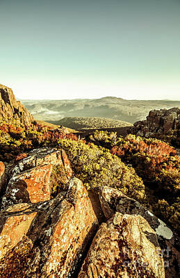 Rocky Wall Art - Photograph - Rugged Mountaintops To Regional Valleys by Jorgo Photography - Wall Art Gallery