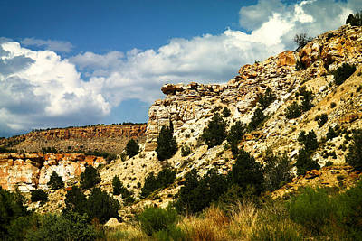 Hot Boulders Photograph - Rugged New Mexico by Jeff Swan