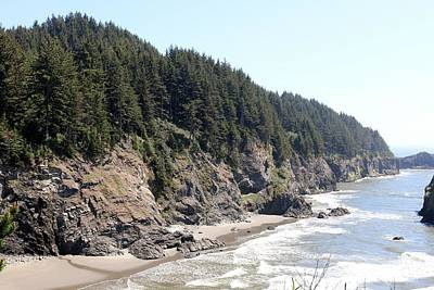 Photograph - Rugged Oregon Coast - 2 by Christy Pooschke