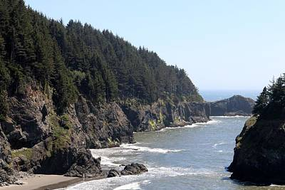 Photograph - Rugged Oregon Coast - 4 by Christy Pooschke