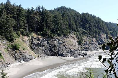 Photograph - Rugged Oregon Coast - 5 by Christy Pooschke