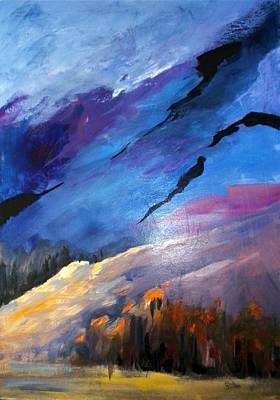 Painting - Rugged Terrain by Sally Bullers