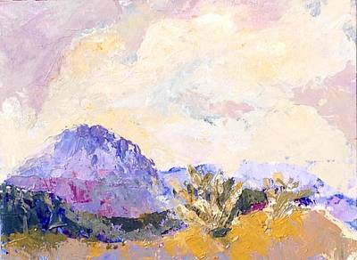 Painting - Rugged Territory by Sally Fraser