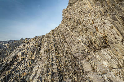 Paul Mccartney - Rugged Texture of Green Point, Newfoundland by Mike Organ