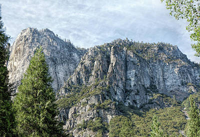 Photograph - Rugged Valley Walls by John M Bailey