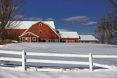 Photograph - Ruggles Barn by Tim Kirchoff
