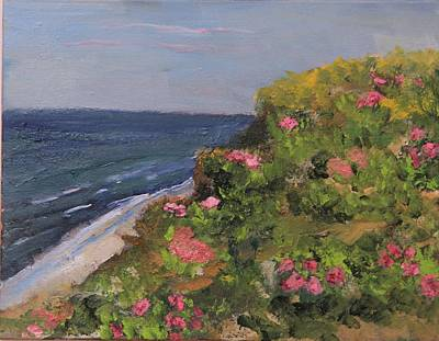 Painting - Rugosa Overlook by Michael Helfen