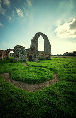 Ruined Abbey Art Print by Svetlana Sewell