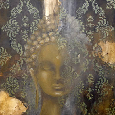 Painting - Ruined Palace Buddha by Dina Dargo