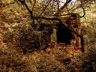 Photograph - Ruined Temple by M G Whittingham