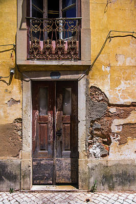 Photograph - Ruined Yellow House by Carlos Caetano