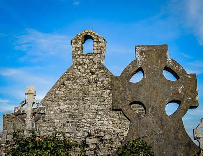 Photograph - Ruins At 12th Century Killone Abbey by James Truett