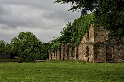Photograph - Ruins At Fort Washita by Katherine Worley