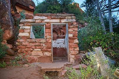 Photograph - Ruins At Slide Rock State Park by Lynn Bauer