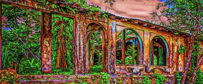 Photograph - Ruins In Jamaica Mug Shot by John M Bailey