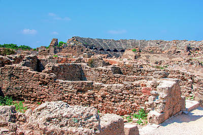 Photograph - Ruins Near The Ancient Theatre Of Side by Sun Travels