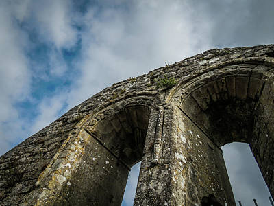 Photograph - Ruins Of 12th Century Abbey by James Truett